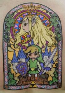 colored-zelda-tattoo